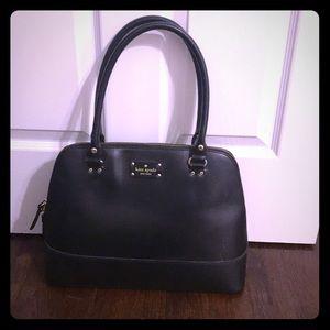KATE SPADE genuine black leather purse